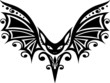 Halloween bat, Fledermaus, design element