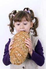 Brot essen