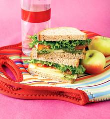sandwich, healthy pesto spread