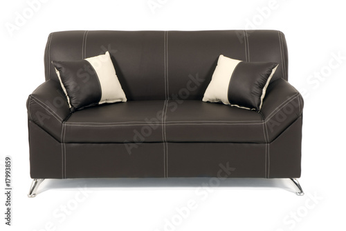 Sof minimalista en piel m xico stock photo and royalty for Sofa minimalista