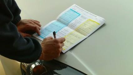 Firmare la constatazione amichevole
