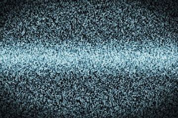 Tv static ghost with noise