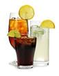 Leinwandbild Motiv Soft drinks