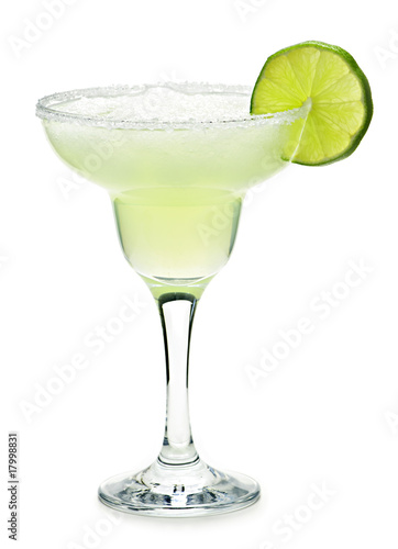 Poster Cocktail Margarita in a glass