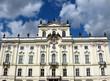 Historische Fassade im Zentrum von Prag