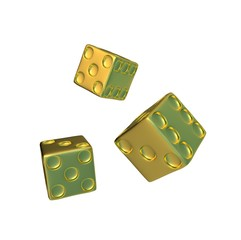 golden dice