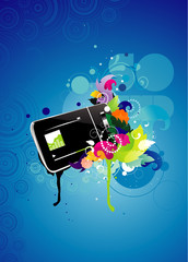 Electronic device vector