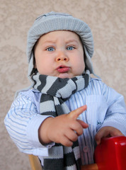 Bébé - Affirmation du caractère d'une petite canaille