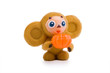 Постер, плакат: Cheburashka with pumpkin
