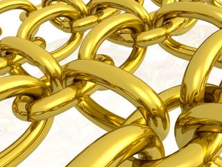 Gold hauberk
