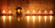 Kerzen, Christbaumkugel
