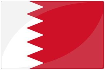 drapeau glassy bahrein bahrain flag