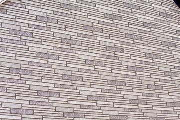 Wand mit Klinkersteinen