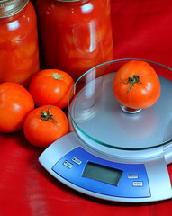 Weighed Tomatoes