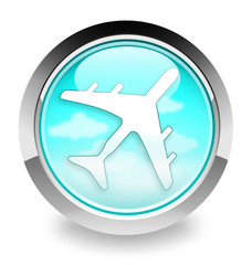 airplane icon/logo