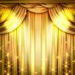 ゴールドのカーテン