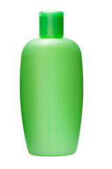 Bottle of shampoo is isolated