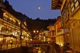 Fototapety 夜の銀山温泉