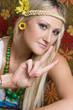 Pretty Hippie Girl