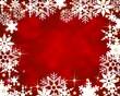 Weihnachtlicher Rahmen