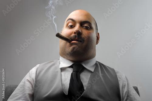 Leinwandbild Motiv boss