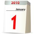 Abreißkalender 2010