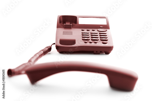 phone with telephone receiver