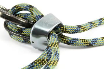 Rope, Belay Device & Caribiner