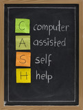computer assisted self help (CASH)