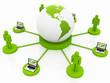 Global Computer Network green