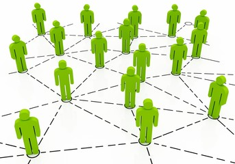 Business Network green color