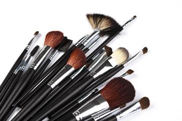Paintbrushes to make up