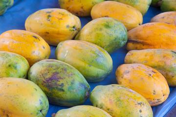 Tropical Papayas