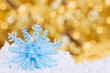 Snow Flake with Bokeh.