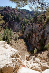 Orderville Canyon from Above