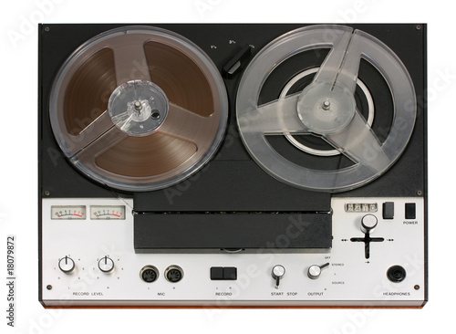 Open Reel Tape Recorder deck