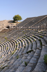 Rows Of Ancient Theater