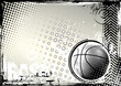 roleta: basketball grungy background