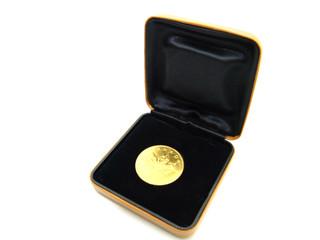 Canadische Münze in Schachtel