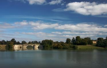 The Grand Bridge at Blenheim Palace