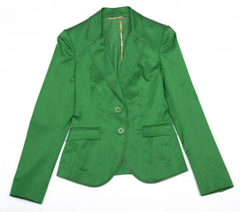 Green Women's jacket.