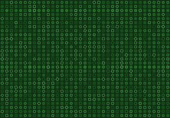 Retro square mosaic