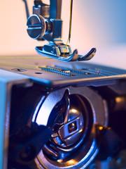 Sewing machine construction