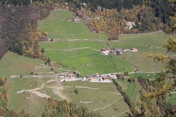 Bauernhof in Hanglage