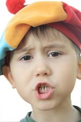 the indignant child
