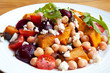 Salad with Chickpeas and Vegetables