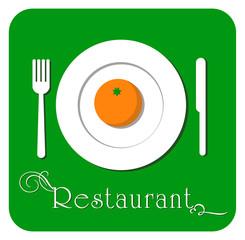 Cartel restaurante 1