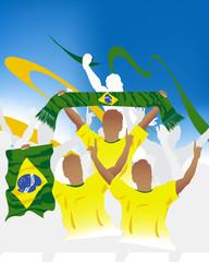 Brazilian crowd