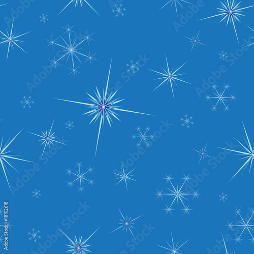 snowflakes seamless background. vector illustration