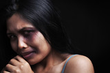 Domestic violence victim poster